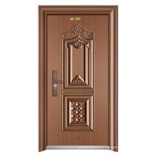 ShuangYing обеспеченностью входа стальная дверь-Слава Золотой Город-яркая медь / Фабрика сразу поставляет