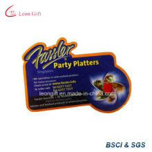 Alta qualidade personalizada impresso o logotipo Pin de ímã de geladeira atacado