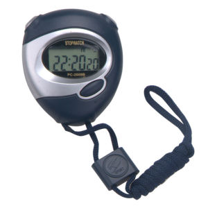 digital stopwatch  calendar with lanyard