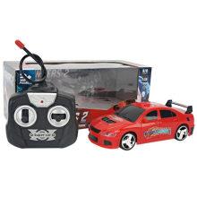 Teledirigido con el coche del juguete de la lámpara
