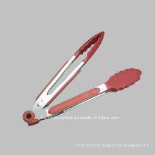 Pinças de utensílios de cozinha de silicone Pinças de utensílios de cozinha de silicone