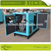 Super silent single phase 220V 9kva water cooled generator
