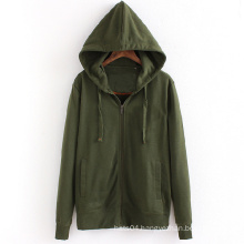 Hot Wholesale Cheap Men Zip up Blank Plain Hoodies