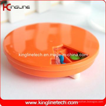 Plastikrunde 7 Tage Pillenbox (KL-9065)