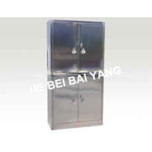 (C-11) Four Doors Stainless Steel Cabinet