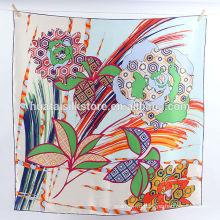 100 магазин шелковой ручной печати из платка с шарфом