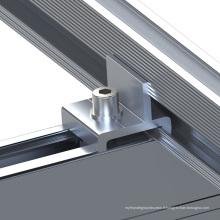 Système de montage solaire photovoltaïque à toit plat inclinable 150KW