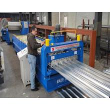 Customized for Wall Roll Forming Machine IBR Alu Zinc Wall Board Making Machine export to North Korea Manufacturers