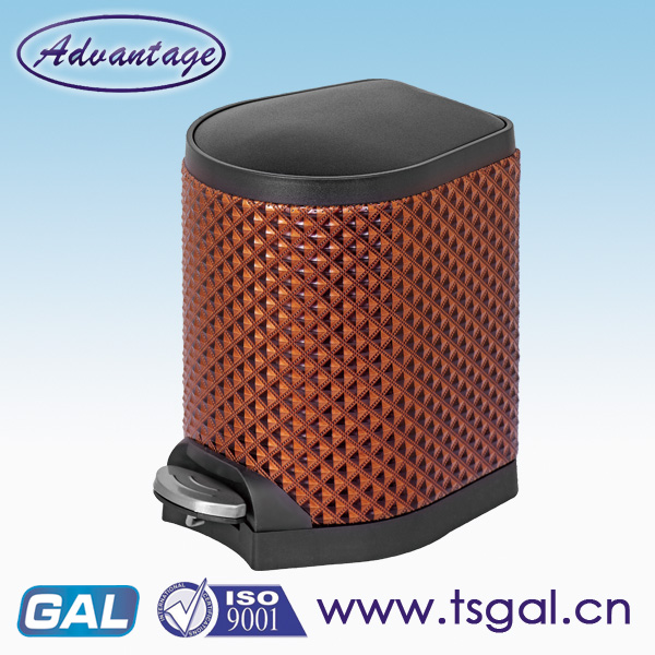 Recycling bins PU leather body dustbins
