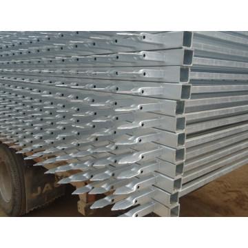 Высококачественная оцинкованная оградная решетка