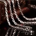 Collar de cadena de acero inoxidable de moda para flotante Locket (NC13-18)
