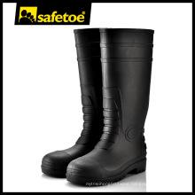 Fashion Plastic Safety Rain Boots W-6038