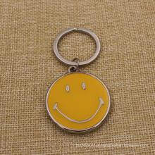 Chaveiro do sorriso do projeto da forma com preço barato (KQ-18)