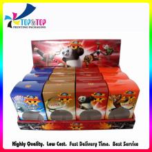 Caja de encargo barata de la exhibición de la cartulina para las ventas