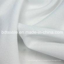 Чистая белая полиэфирная ткань