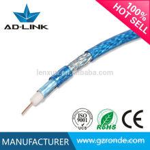 Vente chaude Nouveau câble coaxial pour CCTV / CATV Bon prix par mètre