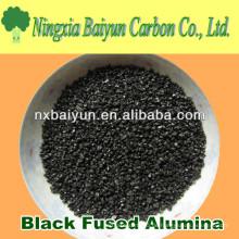 Schwarzer Korund / schwarzes geschmolzenes Aluminiumoxid zum Schleifen und Polieren