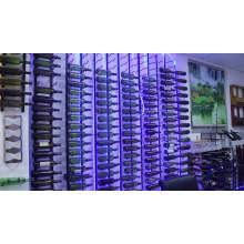 Creative  Wine Bottle Rack bar counter wine rack upside down wall hanging rack
