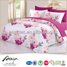 100%poly microfiber disperse printing quilt cover set
