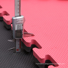 RedBlack Color Tournament Style Interlocking Karate Mats For Sale