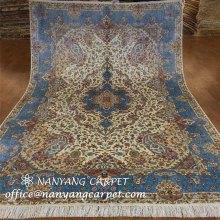 6'x9' Oriental Persian Tabriz Silk Carpet