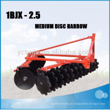 Arm-Maschinerie-Traktor 3 Punkt verbundene Scheibenegge für Verkauf 1BJX-2.5