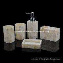 Ensemble de salle de bain résine populaire / objet de salle de bain en résine