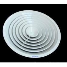 Difusor circular de aire acondicionado