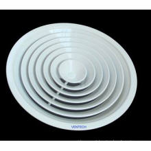Difusor circular ar condicionado
