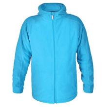 100% Polar Fleece Men's Sweater, Harmless to Body, Fabric Weighs 200 to 380gsm