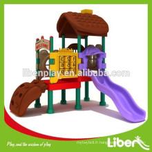 Bon marché 2015 nouveau produit enfant plastique slide terrain de jeux équipement