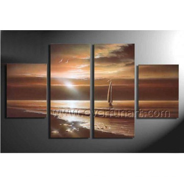 Wall Art Home Decor Seascape Ölgemälde auf Leinwand (SE-194)