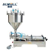 semi - auto bottle liquid filling machine for Honey laundry detergent cosmetics filler