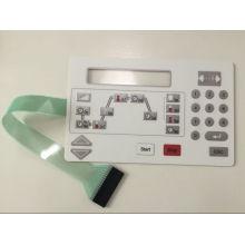 Botón en relieve Interruptor de membrana de acabado mate de Singway