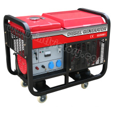Open Type Twin-Cylinder Diesel Generator for Household