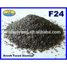 Made in China 24 Grão de malha de alumínio fundido marrom para sabotagem
