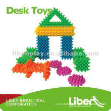 Pequeno e plástico Buliding blocos brinquedos LE-PD002