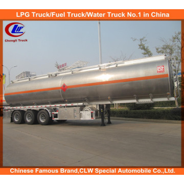 Adr DOT 3 Eixo Aço Inoxidável 42000L Reboque Tanque de Combustível Alumínio Liga Combustível Semi-reboque