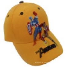 Модная детская шапка с вышивкой (KS22)