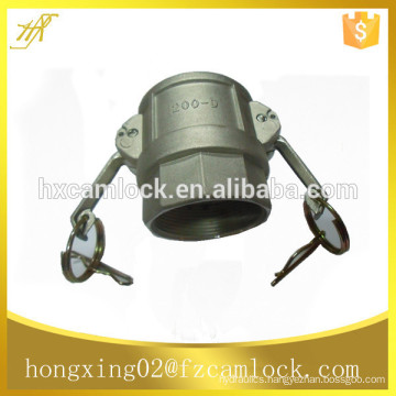 """Stainless Steel 316 Camlock Couplings type D, BSP, NPT thread, size from 1/2"""" to 6"""""""