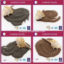 Exportation de sable de grenat de 26 pays avec une excellente qualité