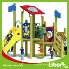 Gebraucht Kommerzielle Kinder Wooden Spielplatz Ausrüstung Großhandel LE.MZ.018