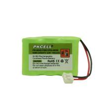 Batterie de téléphone sans fil NI-MH 2 / 3AA 3.6v 600mah