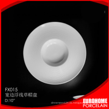 Guangzhou Fabrik heißen Verkauf 2015 Großhandel weiß China Teller