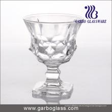 Taza caliente del helado de la venta, cuenco de cristal, Stemware (GB1055)