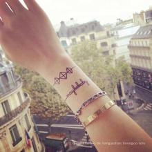 SUCI ungiftig benutzerdefinierte Muster wasserdicht Körper Hand Rücken Arm permanente Henna Tattoo-Aufkleber