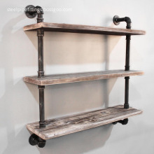 Industrial bookcase Metal Bookcase Reclaimed Bookcase shelf