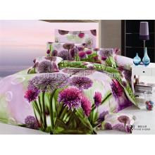 100% Cotton Bed Linens 40s*40s 133*72 Bedding Set 3D Reactive Printed from Alibaba China