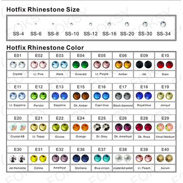 Hot Fix Rhinestone cheer bowtique transferts