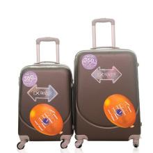 Maleta barata al por mayor de los bolsos del equipaje de la carretilla del ABS
